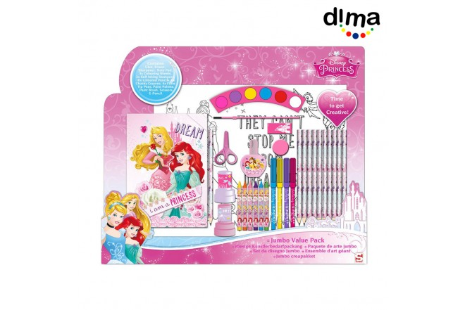 Princess jumbo art pack