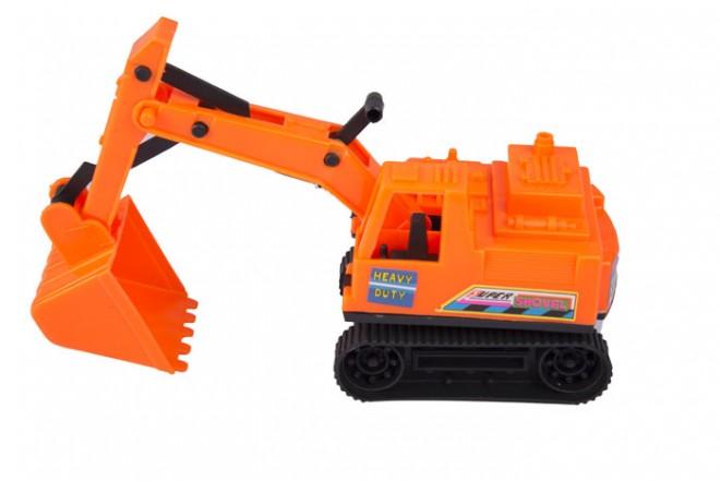 Excavadora Victory Toys Naranja