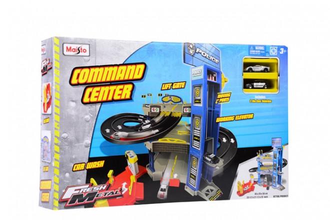 Playset centro de comando policía Maisto