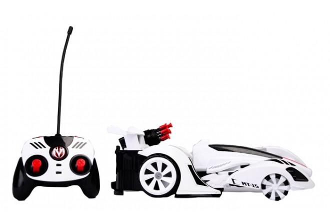 Juguete robot transformer Radio control Maisto Blanco