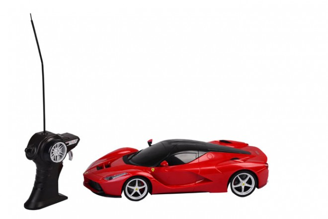 Auto LaFerrari radio control escala 1:14 Maisto Rojo