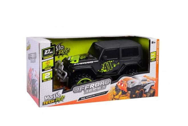 Auto todo terreno Jeep Rubicon Maisto Negro