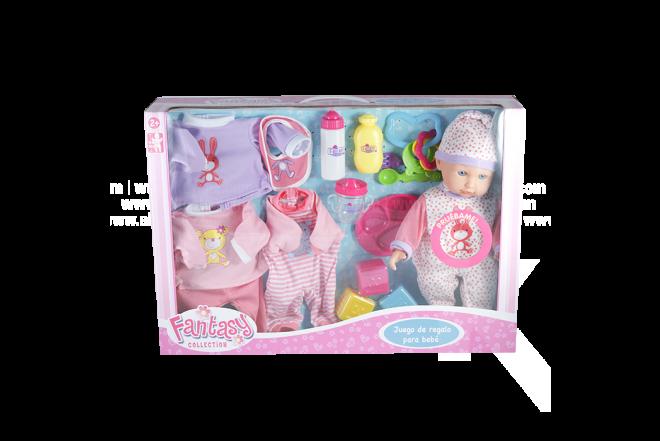 Set Juego Regalo Para Bebé Fantasy Collection