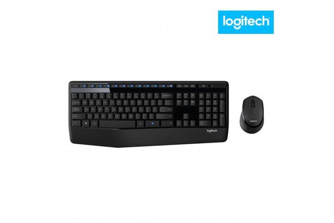 Combo LOGITECH inalámbrico Teclado + Mouse Óptico