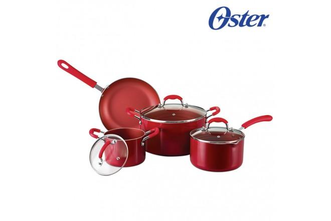 Batería OSTER Color Rojo 7 Piezas