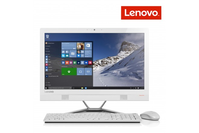 "PC All in One LENOVO 300 | 6GB | A6 | 21.5"" Blanco"