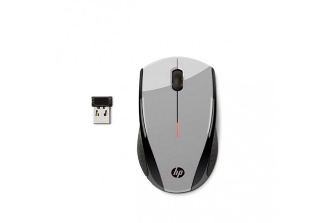 Mouse HP X3000 Inalámbrico Blist Gris