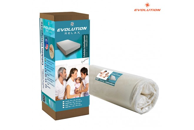 Colchón EVOLUTION RELAX inteligente doble / 30CM