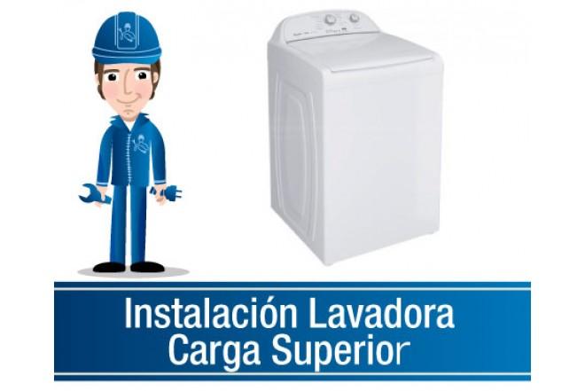 Instalación Lavadora Carga Superior