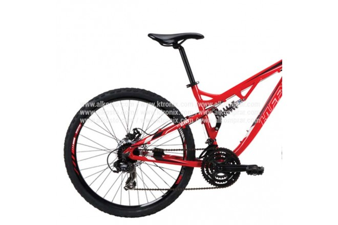 """Bicicleta de montaña HUFFY de 26"""" Roja"""