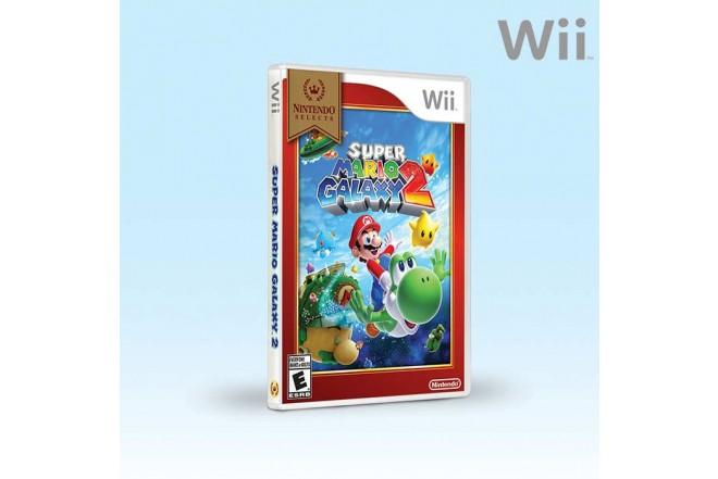 Videojuego WII Super Mario Galaxy 2 Select