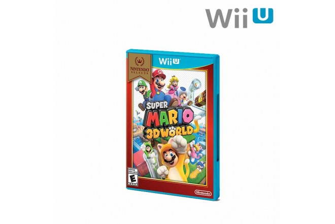Videojuego WII U Super Mario 3D World Select