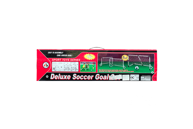 Arcos Fútbol Con Pelota e Inflador Soccer Goal Set