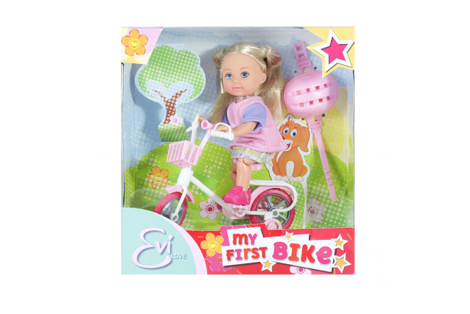Muñeca Evi Love My first Bike