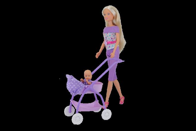 Muñeca Steffi Baby Walk (Juguetes)