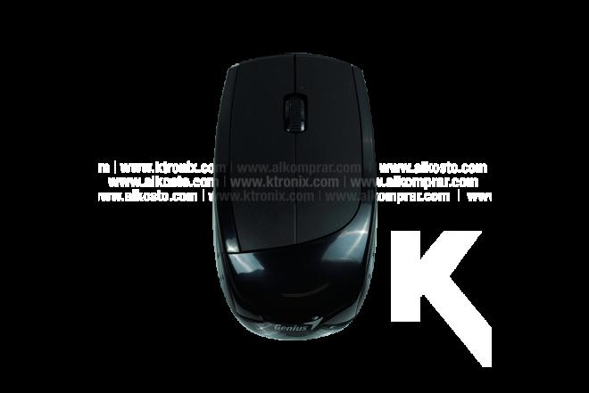 Combo Mouse + Teclado GENIUS Inalámbrico Negro