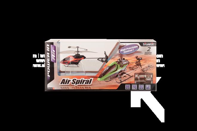 Helicóptero Power In Air Air Spiral