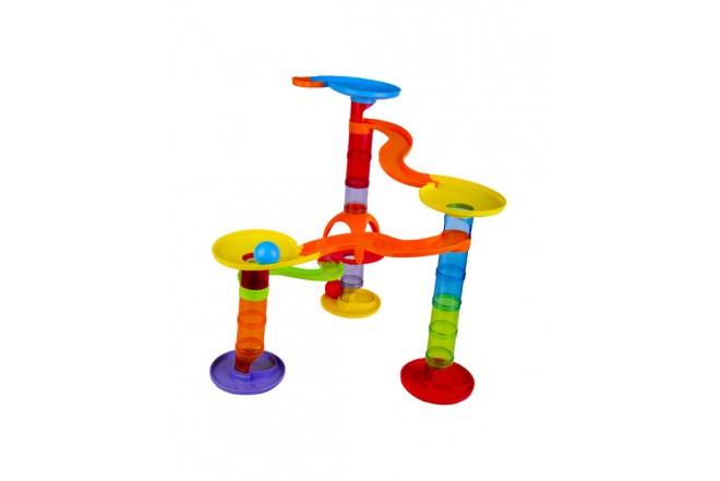 Pista de esferas de colores Play go