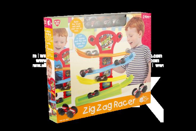 Juguete Pista Auto Zig Zag Racer