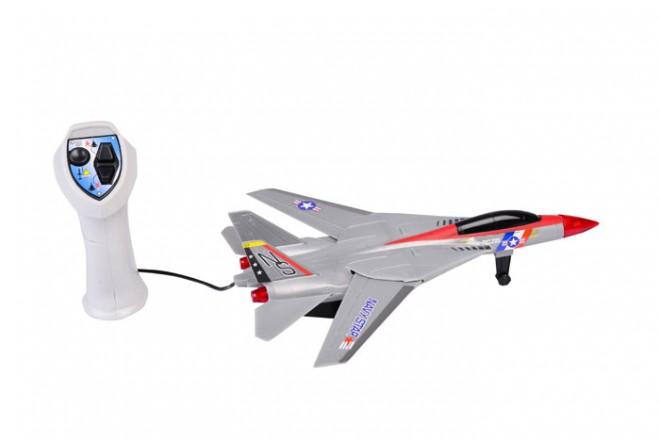 Avión a control remoto Goldlok plata