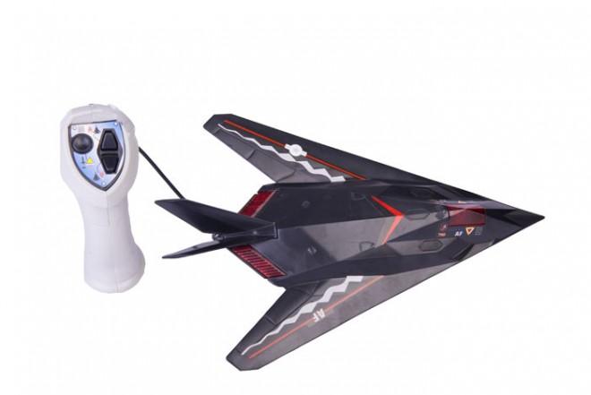 Avión a control remoto Goldlok negro