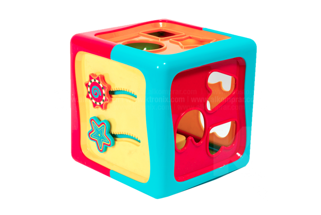 Cubo Didáctico Musical Baby