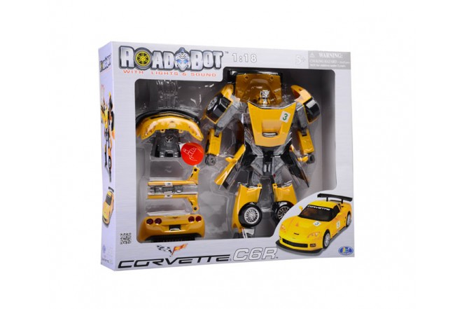 Robót Corvette transformer Roadbot Happy Well Amarillo