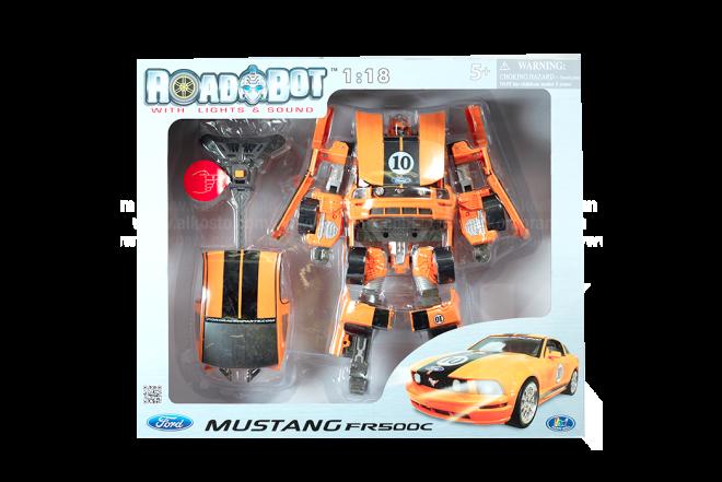 Transformer Naranja Mustang FR500C