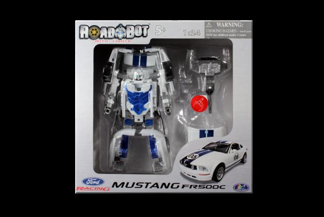 Robot Transformador Mustang FR500C (Juguetes)