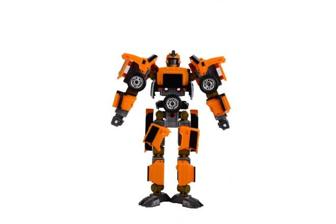 Robot transformer Hummer 3 en 1 Happy well Amarillo