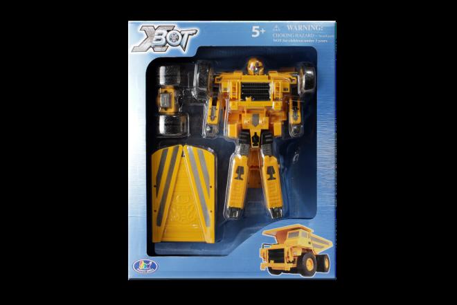 Robot Transformer Camion Carga Xbot
