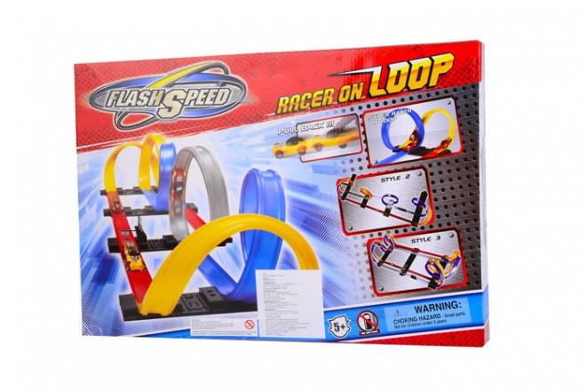 Pista racer loop Flash Speed colores