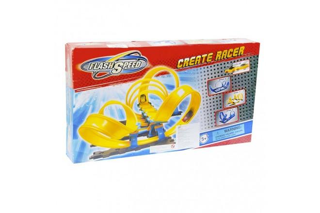 Pista de Carros Create Racer Flash Speed 4mts