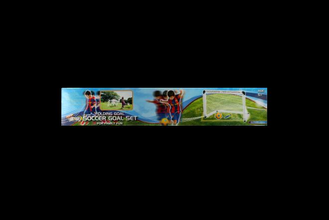 Mini Arco De Fútbol Plegable Soccer Goal Set (Juguetes)