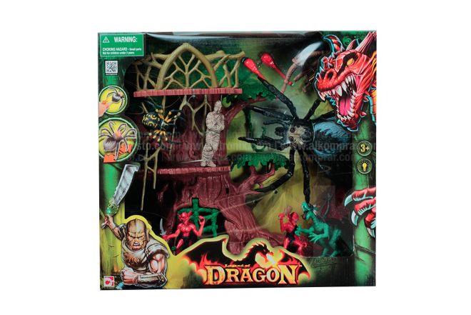 Playset Araña Gigante Legend of Dragon
