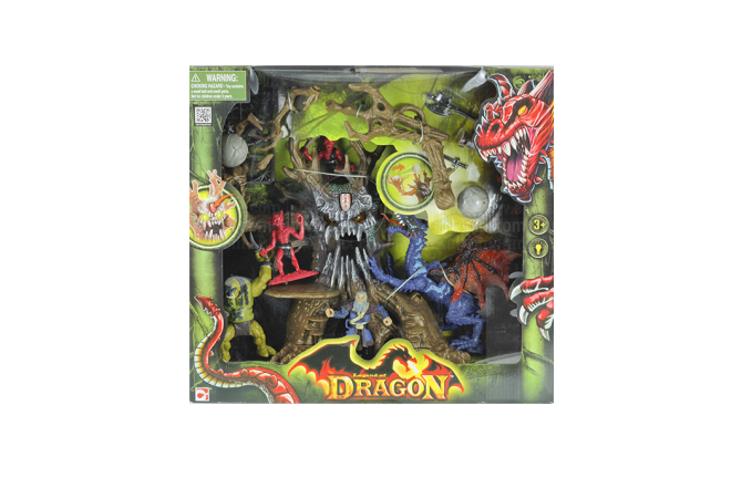 Figura Legend Of Dragon Monster Tree Assault Playset