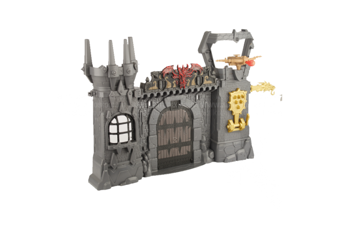 Figura Legend Of Dragon Doom Castle Atack Playset