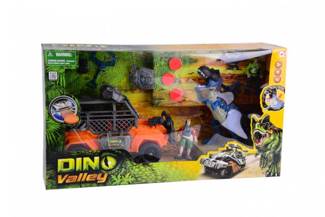 Playset dino valley Dino capture Chap Mei