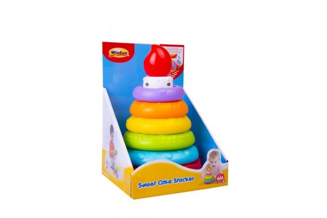 Apilables didácticos Win Fun de colores