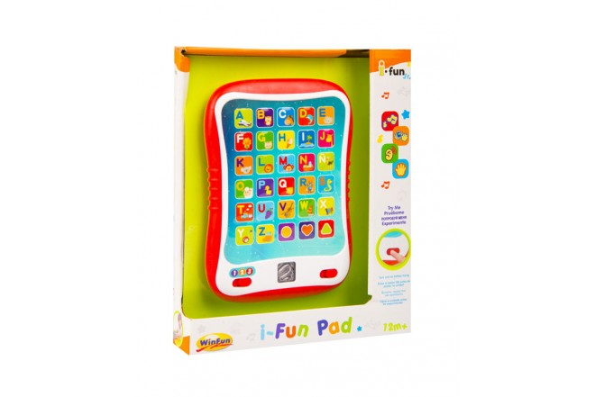 Tableta de aprendizaje i-Fun Pad Win Fun Blanco