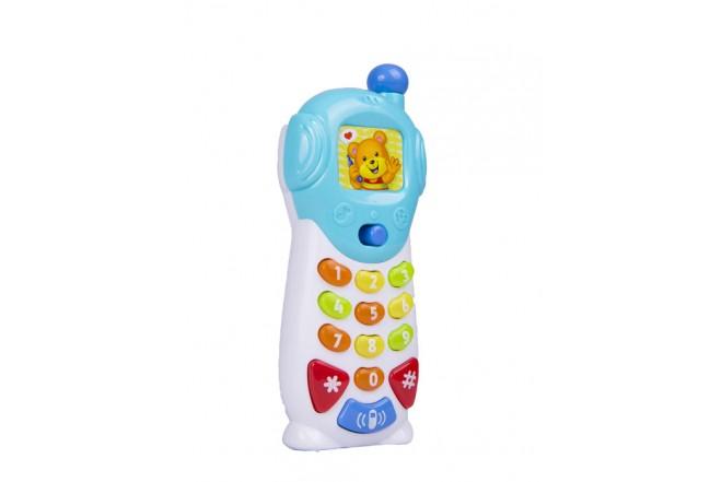 Teléfono parlante y luminoso Win Fun Blanco