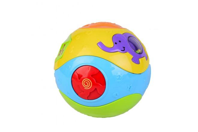 Pelota musical de actividades Win fun Colores