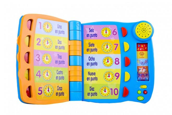 Libro parlante de actividades Win fun
