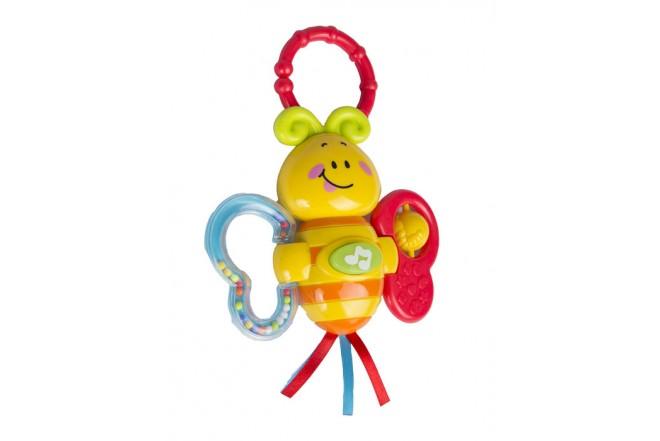 Mariposa musical Win Fun amarilla