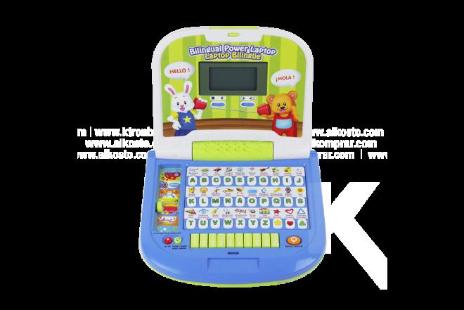 Juguete Laptop Bilingüe