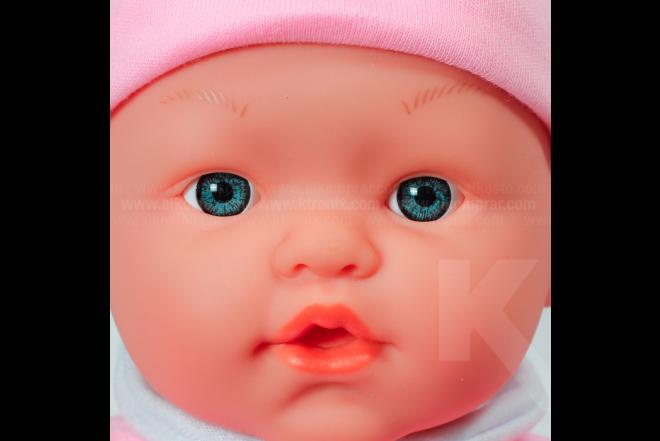 Bebé 36 cm Con Coche My Dolly Sucette