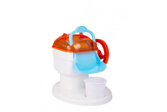 Máquina de helados y paletas Young Chef Blanco Naranja Azul