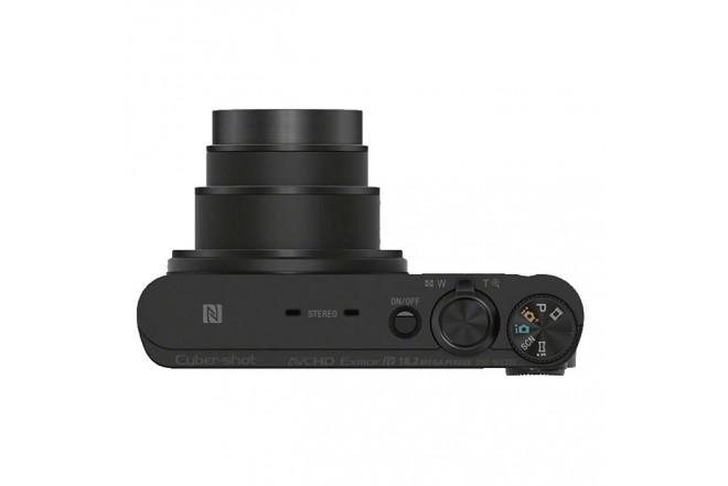 Cámara Compacta SONY DSC-WX350 Negra