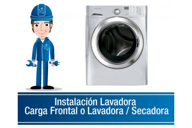 Instalación Lavadora Carga Frontal