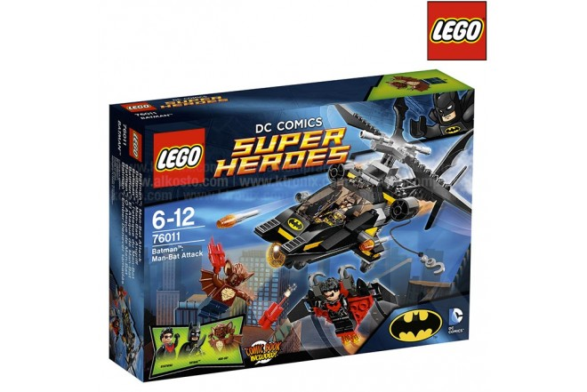 LEGO Superhéroes Batman: El Ataque de Man-Bat